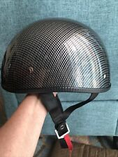 Vega Halfshell Size Medium Motorcycle Helmet DOT approved.