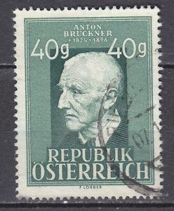 AUSTRIA used 1949 SC# Nr 518 Anton Bruckner - Composer