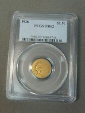 1926 $2.50 PCGS FRO2 Lowball Gold Coin
