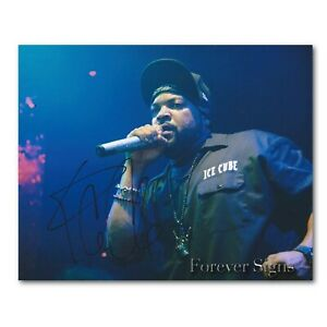 Photo Ice Cube Autograph Signed 8 x 10