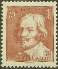 "FRANCE #305: MH ""Jacques Callot"" from 1935"