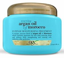 4 Pack Organix Renewing Moroccan Argan Oil Intense Moisturizing Treatment 8oz Ea