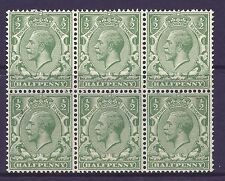 British George V Stamps without Gum