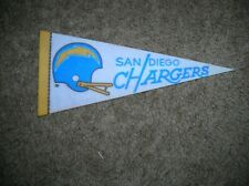 San Diego Chargers 1970's mini pennant