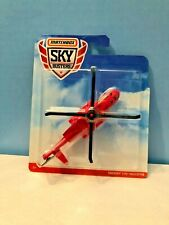 Matchbox 2018 Red Sky Busters Rescue 1 Helicopter 09