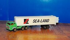 Lot Of 8 (Eight) ''Sea-Land' ;'Tractor Trailer (Ho) 1:87 True Scale