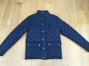 AVENUE Navy Quilted Jacket   UK  SMALL