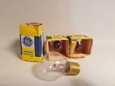Lot of 3 General Electric GE Appliance Globe Light Bulb Lamps 10W 130V S11