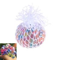 Anti-stress soulager la balle de raisin arc-en-ciel humide jouet de bandage soup