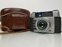 Vintage Ilford Sportsmaster Pronto-Lux 35mm Film Camera with Case