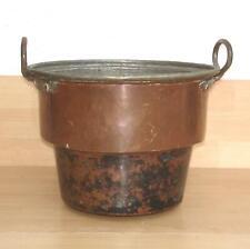 Kupferkessel - Waschkessel - seltene Größe - Durchmesser 31 cm.