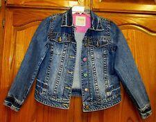 Children'S Place Girls 1989 Jean Jacket Sz Xl 14 Cute Buttons/ Flap Chest Pocket