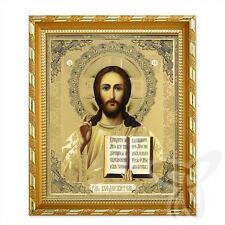 Ikone Jesus Christus Holz 21x18 K Господь Вседержитель Спаситель икона 2