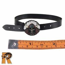 GK Diamond 5 Ralap - Belt w/ Skull Buckle - 1/6 Scale - Damtoys Action Figures