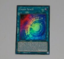 TOCH-EN009 Chaos Space | Unlimited | Super Rare YuGiOh Trading Card Toon Chaos