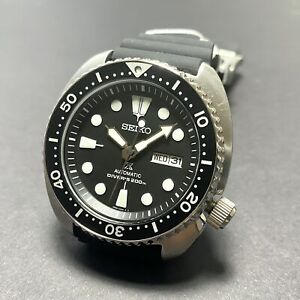 SEIKO Prospex Turtle SRPE93K1 Automatic 200m Japan Made Resin All Black spr777k1
