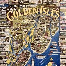 Brunswick Golden Isles Georgia 1000 Pc Puzzle Simons Jekyl Island White Mountain