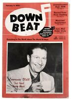 DownBeat February 9 1955 Lawrence Welk  & Great Ads