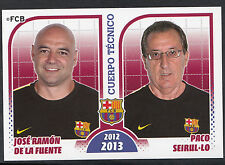 Panini Football Sticker - FC Barcelona 2012-13 Season - No 31 -Jose De La Fuente