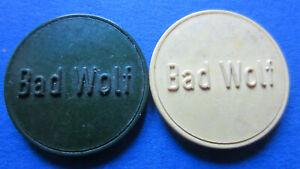 Bier-Marken Bad Wolf Neu-Ulm Me.(18750/5+6 in vz (2667)