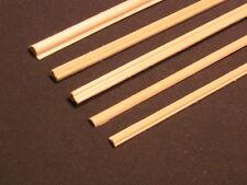 Chair Rail #5 chairrail basswood miniature dollhouse trim molding 2pc MW12015