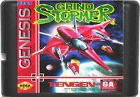 Grind Stormer (1993) 16 Bit Game Card For Sega Genesis / Mega Drive System