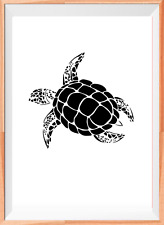 Sea Turtle Animal Mylar Reusable Stencil Aérographe Painting Art Craft À faire soi-même HOME