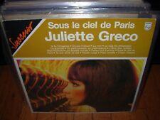 JULIETTE GRECO sous le ciel de paris ( world music ) france