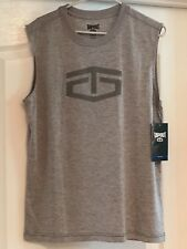 Tapout Men Gray Tshirt Tank Small Power Muscle Shirt S Nwt $22