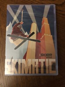 Skimatic DVD - Skiing Movie Sbc Skier Magazine- New!