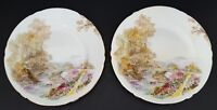 "Shelley Fine Bone China England Bread Plates 7"" Heather Set of Two (2)"