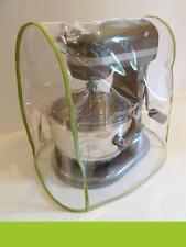CLEAR MIXER COVER fits KitchenAid Bowl Lift - w/GREEN APPLE Trim - (5-6 Qt.)