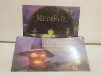 MediEvil Demo (Sony PlayStation 1, 1998) PS1 Rare Complete Nice Display