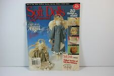 Folk Angel Craft Doll Making Uncut Patterns Soft Dolls & Animals Magazine