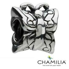 Genuine retired Chamilia sterling silver 925 butterfly bracelet charm