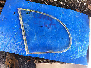 No Draught Vent Window for Rear Doors Jaguar Saloons Triplex Clear MKX, MK9, MK2