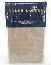 Ralph Lauren Modern Icons Roth Taupe Brown King Pillow Sham 20X36in Nip $215