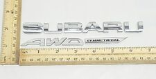 Subaru Outback AWD Symmetrical Emblem Logo Badge Genuine OEM