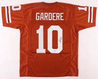 Peter Gardere Signed Texas Longhorns Football Jersey JSA COA Authentic Autograph