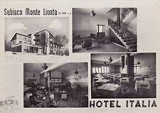 # SUBIACO - MONTE LIVATA: HOTEL ITALIA