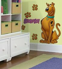 SCOOBY DOO BiG Mural Wall Stickers Room Decor Decals DOG NEW Decorations Kids