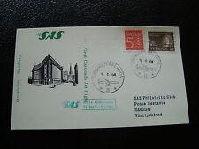 SUEDE - carte 5/4/1964 (stockholm/hamburg) (cy23) sweden