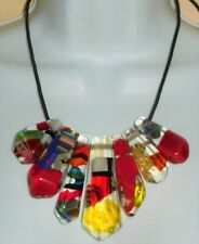 Sobral Acontecencias Preterito Pereito Inclusion Bead Necklace Brazil Import