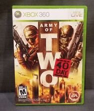 Army of Two: The 40th Day (Microsoft Xbox 360, 2010) Video Game
