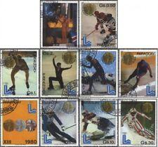 Paraguay 3347-3356 (edición completa) usado 1981 ganadores el juegos olímpicos