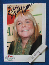 "HAND SIGNED - Linda Robson - 1990's - Press Promo Photo-7""x5""-Birds of a Feather"