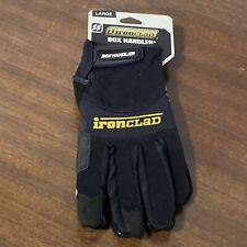 Ironclad Box Handler Gloves Black Large Pair 696511060048