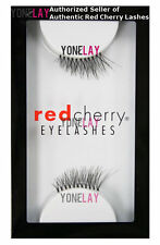 Lot 12 Pairs GENUINE RED CHERRY DS03 Jane Accent False Eyelashes Half Lashes