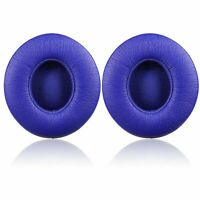 2 Earpad Ear Pads Cushion For Beats by Dr Dre Solo 2 Wired Headphone Blue USA