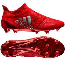 ADIDAS X 16+ PURECHAOS FG SOCCER CLEATS MENS SIZE US 11 UK 10.5 SOLAR RED S79512